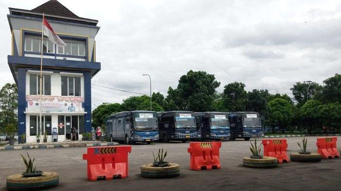 Ratusan Bus Tak Beroperasi Penumpang Hanya Satu-Dua, Tim Satgas Selalu Tanya Ini kepada Penumpang