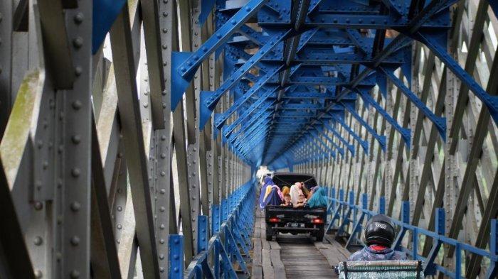 Jembatan Cirahong yang Tak Lagi Bisa Dilewati Mobil Mulai Hari Ini, untuk Selamanya