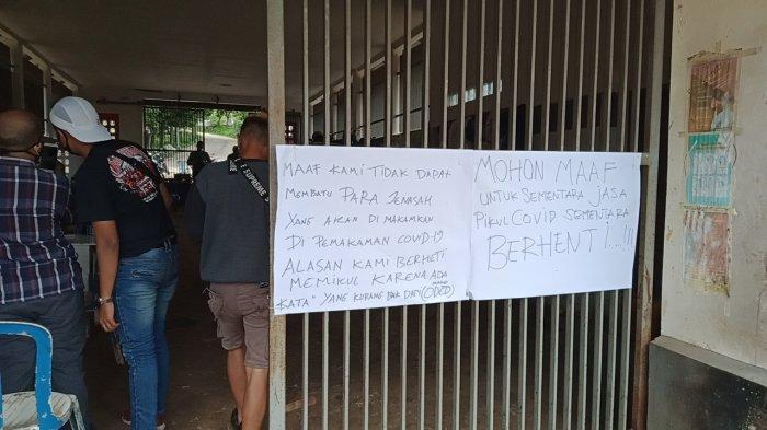 Tersinggung Disebut Pungli oleh Wali Kota Bandung, Pemikul Jenazah Covid-19 Pilih Mogok Kerja