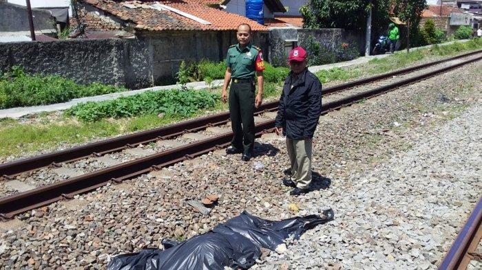 IRT di Tasikmalaya Tewas Tertabrak Kereta Api, Tubuhnya Terpental Puluhan Meter