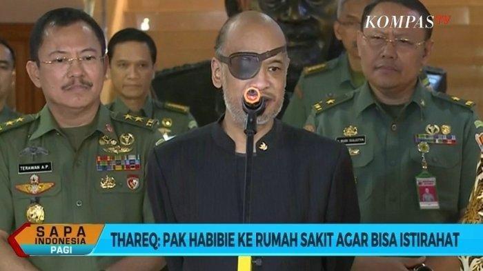 Pakai Penutup Mata Seperti Nick Fury, Apa yang Terjadi dengan Penglihatan Thareq Kemal Habibie?