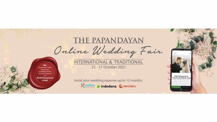 The Papandayan Menggelar Online Wedding Fair