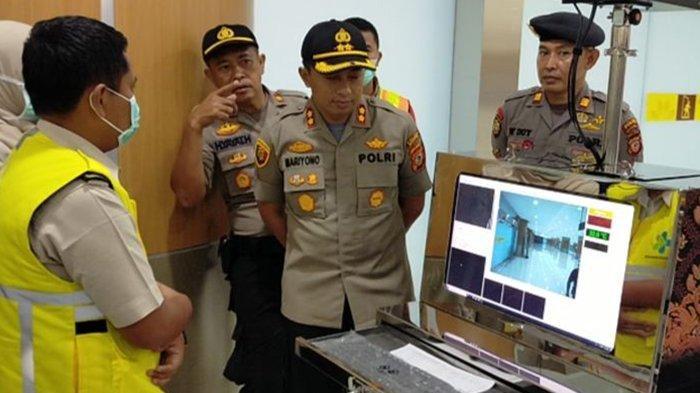 Tingkatkan Kewaspadaan Terhadap Virus Corona, BIJB Kertajati Gandeng Kepolisian Majalengka