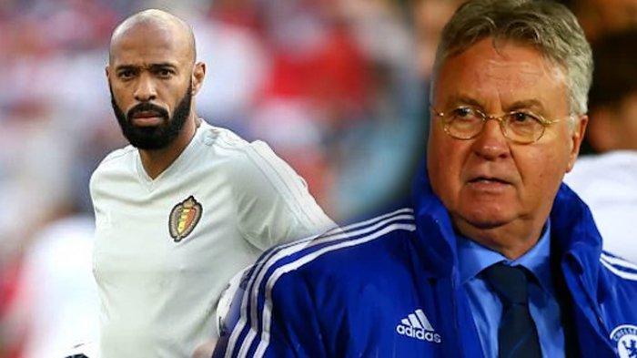 Bersama Belgia Hadapi Perancis, Thierry Henry Akan Ulangi Kisah Guus Hiddink di Piala Eropa 2008?