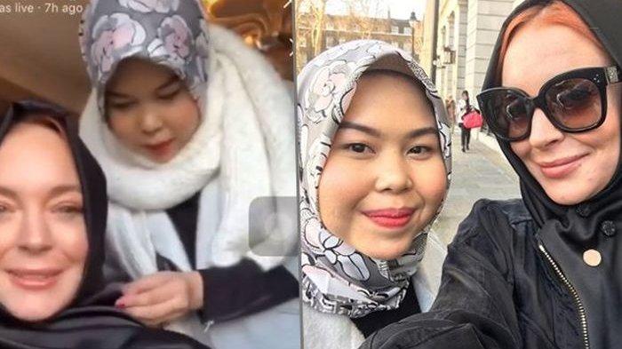 Yuk Kenalan dengan Tika Mulya, Hijab Stylist di Balik Penampilan Lindsay Lohan dengan Hijab