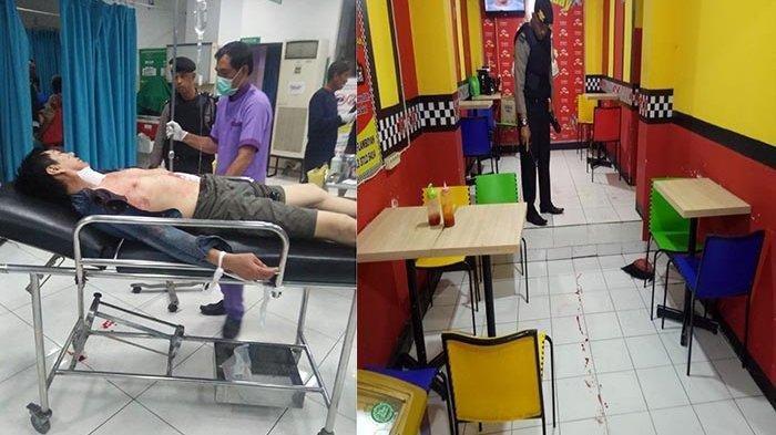 Usai Operasi Tumor Usus, Pria Ini Kabur ke Warung Ayam Geprek dan Tikam Leher Sendiri