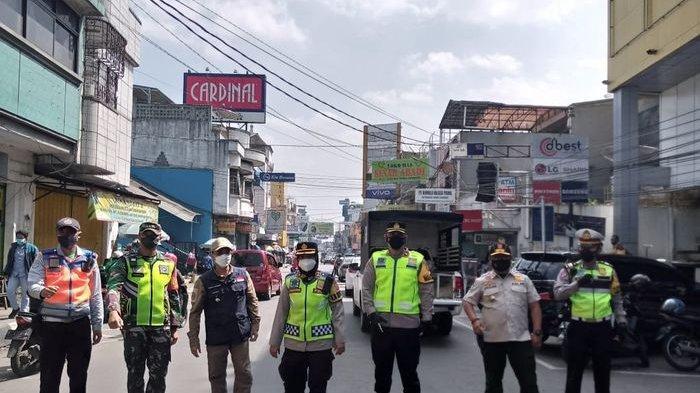Tim Gakum PPKM Darurat Kota Sukabumi Akan Tindak Tegas Pedagang yang Bandel, Bila Perlu Cabut Izin