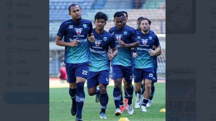 Persib Bandung Serius dan Tak Main-main Hadapi Borneo, Lakukan Ini Sebelum Laga Digelar Malam Nanti