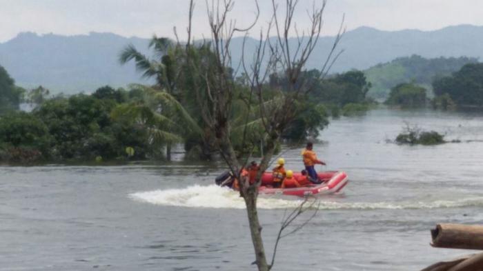 Jasad Rosid Ditemukan Muncul di Permukaan Bendungan Jatigede Setelah Tenggelam 3 Hari
