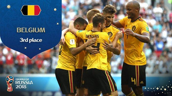 Raih Perunggu Eden Hazard dkk Jinakkan 'Tiga Singa' 2-0, Jalannya Laga Belgia Vs Inggris