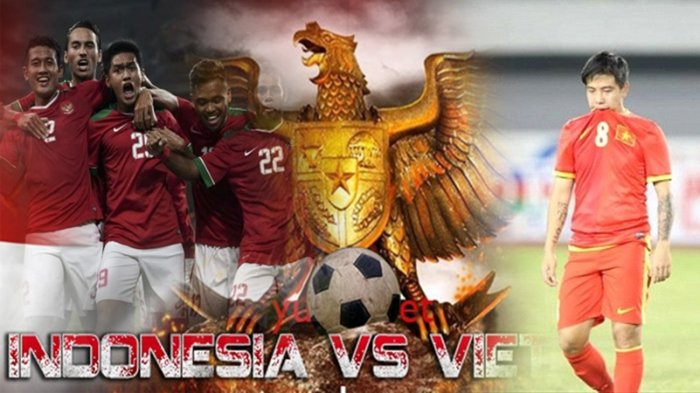FT: Indonesia Vs Vietnam, Skor Berakhir Imbang