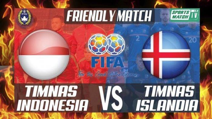 Timnas Indonesia Vs Islandia Imbang 1-1 di Babak Pertama, Begini Sengitnya Permainan di SUGBK