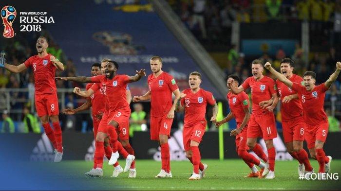 Jelang Semifinal Piala Dunia 2018, Jimat Keberuntungan Inggris Bermasalah dengan Kebugaran