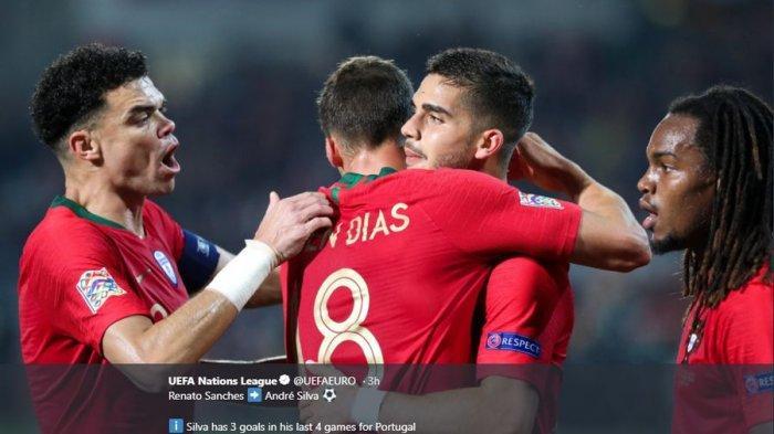 Seri Lawan Polandia, Portugal Bikin Rekor di UEFA Nations League, Tanpa Cristiano Ronaldo