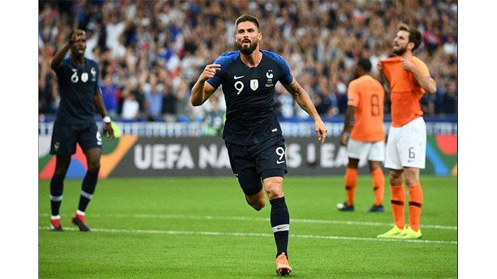 Hasil UEFA Nations League, Prancis Menang -2-1 Atas Belanda