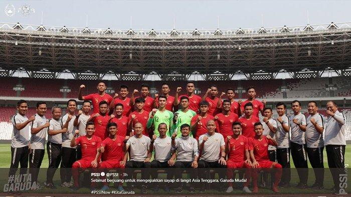 Live Streaming RCTI Timnas U-23 Thailand vs Timnas U-23 Indonesia, Garuda Muda Akan Tampil Lepas