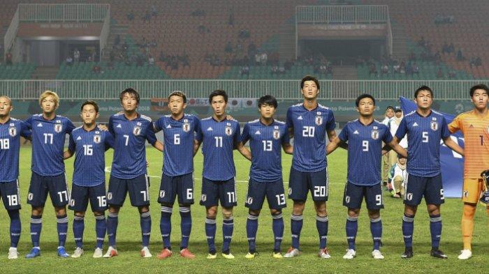Ini Kekuatan Timnas Sepakbola U-23 Jepang, Lolos ke Final Asian Games 2018 Pakai Pemain Universitas