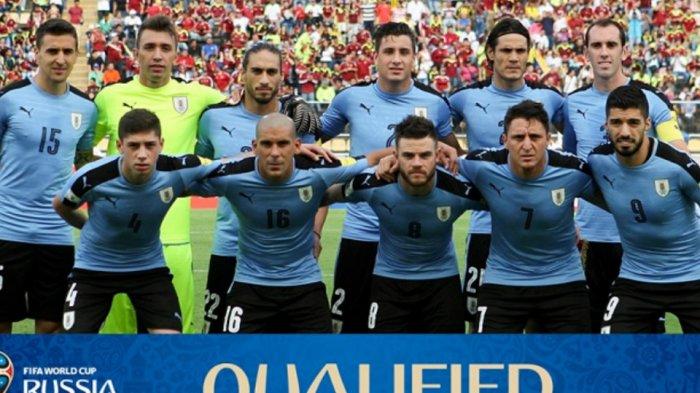 Benteng Lapis Baja Uruguay Jadi Ujian Sebenarnya bagi Perancis di Piala Dunia 2018