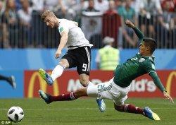 Jerman Tertinggal 1-0 dari Meksiko Gara-gara Serangan Balik Kilat