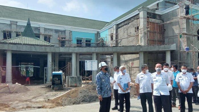 7 Tahun Terlantar, Pembangunan Wisma Haji di Komplek Islamic Center Ciamis Dilanjutkan