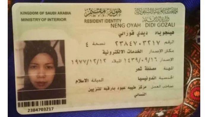 Kabar TKW Purwakarta Disiksa Majikan di Arab Saudi, Ini Kata Anak Neng Oyah