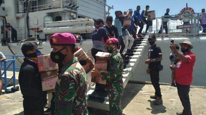 TNI AL Kirim 4 Kapal Perang ke NTT, Bantu Angkut Bantuan untuk Korban Bencana Alam