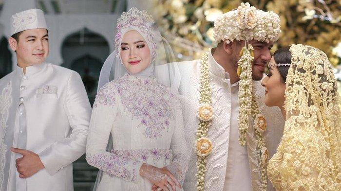 3 Pasangan Seleb Ini Menggelar Pernikahan di Hari yang Sama, Nomor 3 Pengantinnya Mirip Barbie