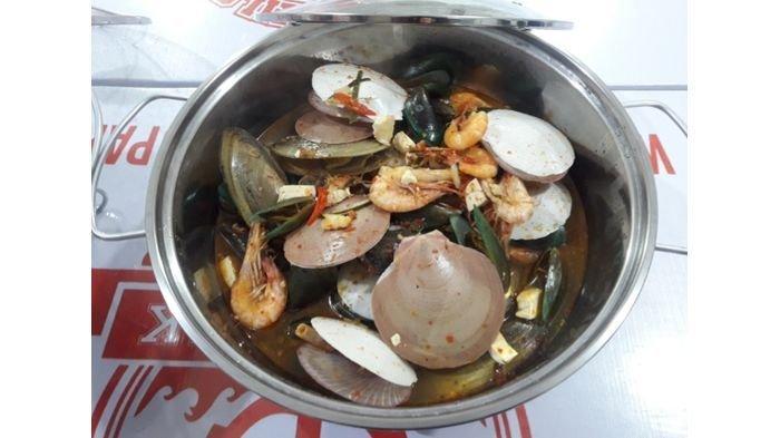 Sensasi Asam, Pedas, Gurih, Sajian Tomyam Seafood Menu Baru Ala Bang Bopak