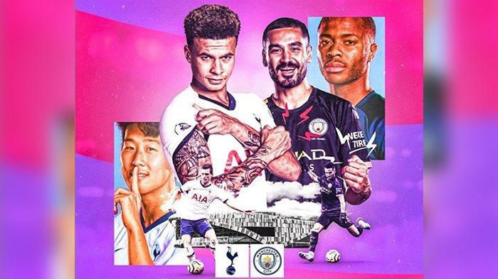 Tottenham Hotspur vs Manchester City, Berikut Link Live Streaming Mola TV dan Starting Line Up