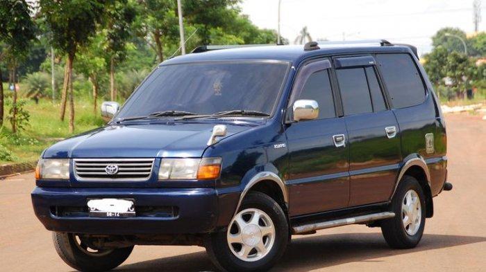 Ilustrasi Toyota Kijang Kapsul