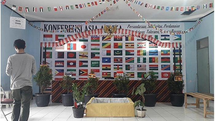 TPS Unik Bertemakan Semarak Konferensi Asia Afrika Dibangun Warga Nyengseret, Ini Alasannya