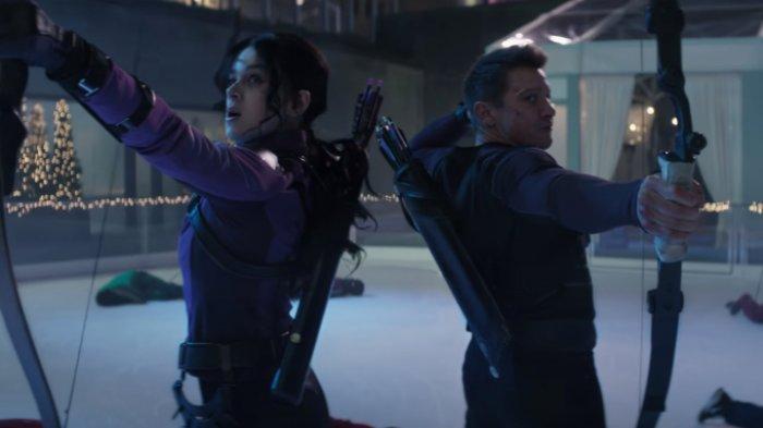 Marvel Rilis Trailer Perdana Serial 'Hawkeye', Intip Keseruan Hubungan Kate Bishop dan Clint Barton