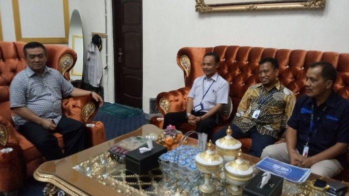 Tribun Jabar Silaturahmi dengan Wali Kota Cirebon Nasrudin Azis