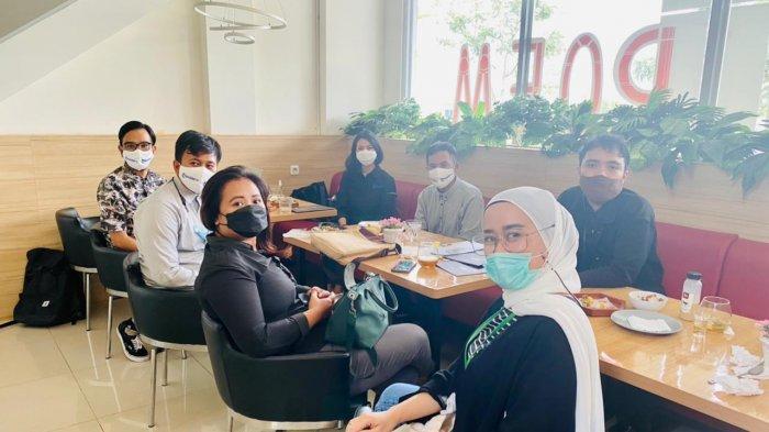 Manajemen Tribun Jabar dan Summarecon Bandung Silaturahmi Bahas Kerja Sama
