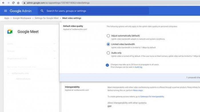 Trik Hemat Kuota Data Google Meet di HP Sistem Andriod dan iOS atau Menggunakan Laptop
