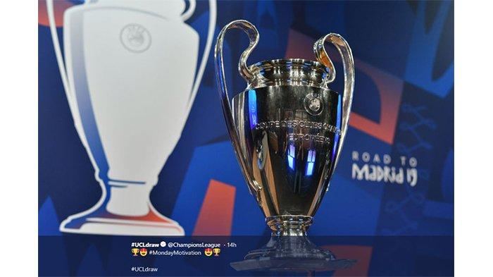 Hasil Undian 16 Besar Liga Champions, 4 Tim Berpredikat Badge of Honour Saling Adu