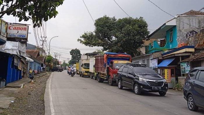 Jalur ke Bogor dan Jakarta Diberlakukan Buka Tutup, Gara-gara Truk Ukuran Jumbo Patah As Roda