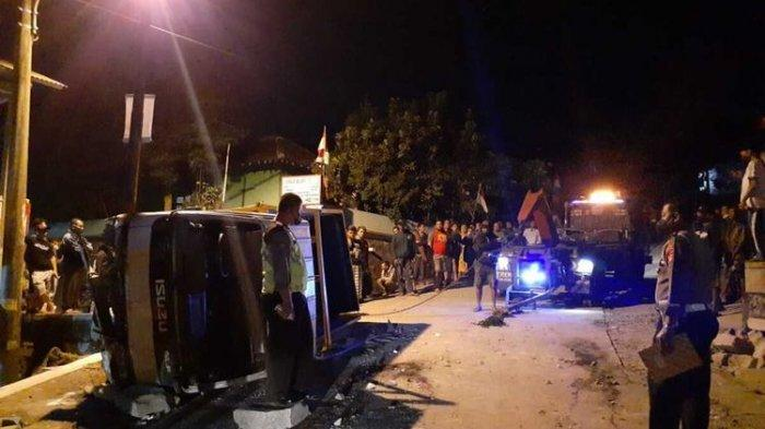 Lima Orang Meninggal, Kecelakaan Truk Pengangkut Batu di Tebing Breksi Sleman, Begini Kronologinya