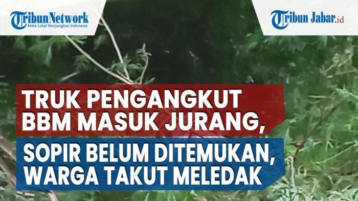 32 Jam Dicari, Sopir Truk BBM yang Terjun ke Jurang Tanggeung Akhirnya Ditemukan, Ini Kondisinya