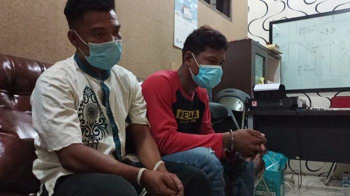 Dua tersangka penganiayaan gara-gara PL atau pemandu lagu di Indramayu.