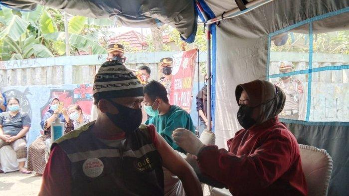 Nurdin Semringah Diajak Vaksin, Sadar Profesi yang Dijalani Membuatnya Rentan Terpapar Covid-19