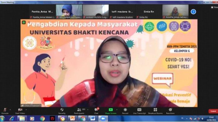 Sambutan ketua tim dosen pembimbing, Vina Vitniawati, S.Kep., Ners., M.Kep