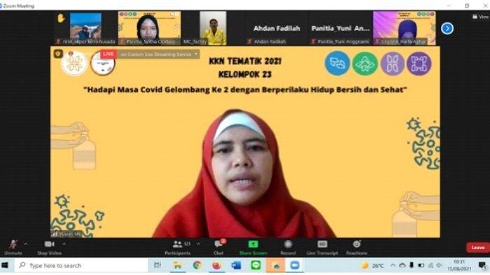 Sambutan dari ketua dosen pembimbing Ibu Yuyun Sarinengsih, S.Kep, Ners., M.Kep