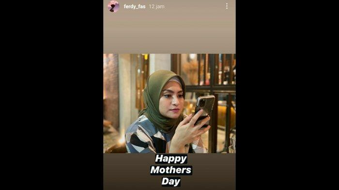 Anak bungsu Sule ucapkan selamat Hari Ibu ke Nathalie Holscher.