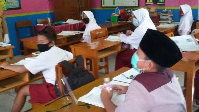 Belajar Tatap Muka di Ciamis, Selama Dua Hari Hanya 4 Siswa SD yang Tak Ikut PTM