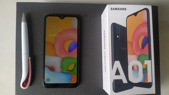 Unboxing Samsung Galaxy A01, Smartphone Rp 1 Jutaan dari Samsung yang Punya Kamera Ganda