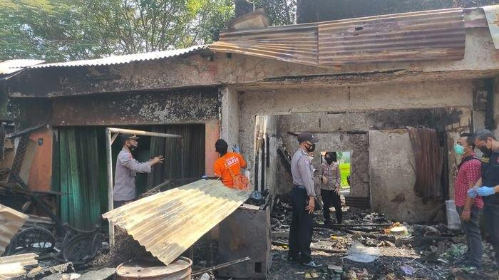 Polisi Olah TKP Kebakaran di Pasar Cigasong Majalengka, Indikasi Sementara Korsleting Listrik