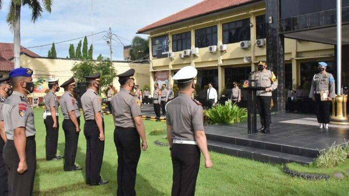 130 Personel Naik Pangkat, Kapolresta Cirebon Syahduddi Sampaikan Konsekuensinya