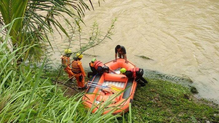 Alat dan Personel Ditambah, Tim SAR Kembali Mencari Natasya, Bocah Ditelan Banjir Bandang Tasik