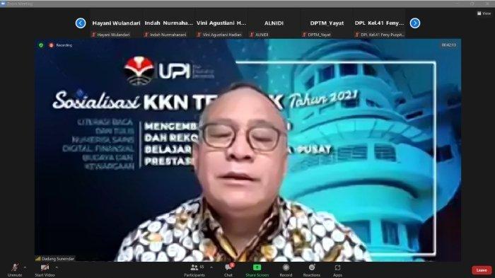 UPI Selenggarakan KKN Tematik Dalam Mendukung Merdeka Belajar Kampus Merdeka Kemendikbudristek